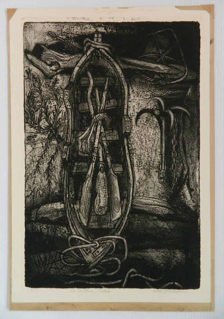 Billy Morrow Jackson etching - 4