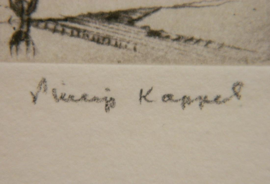 Philip Kappel 4 etchings - 3