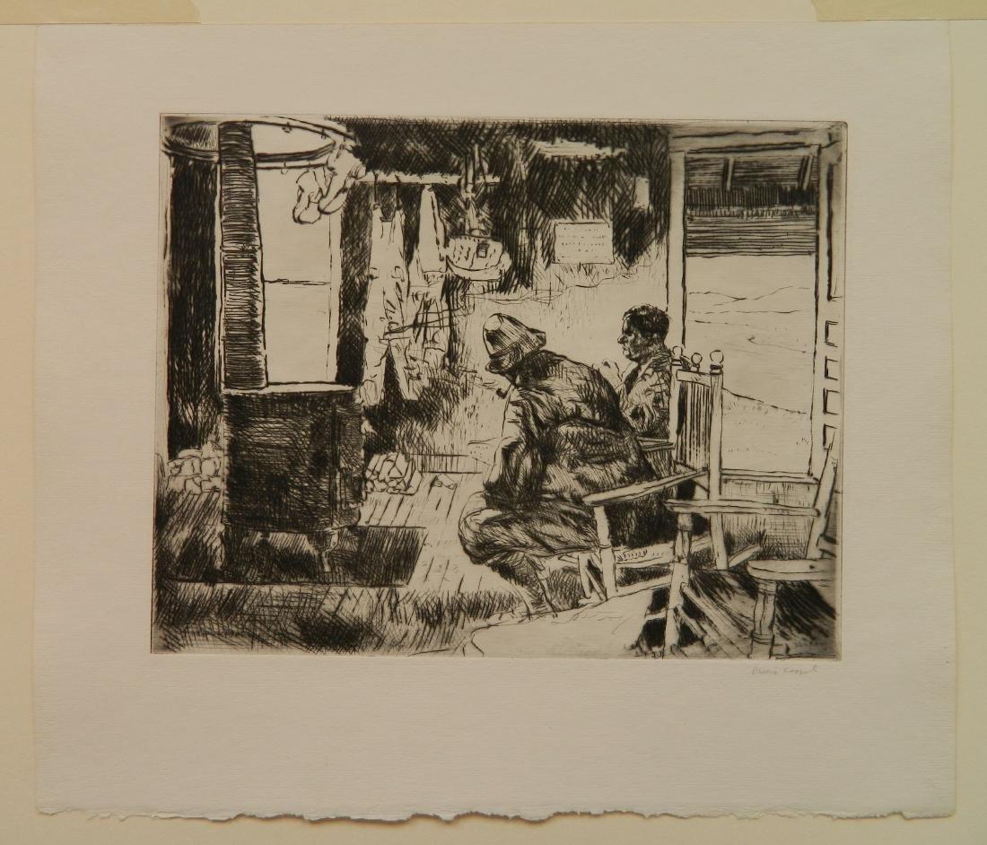 Philip Kappel 4 etchings - 4