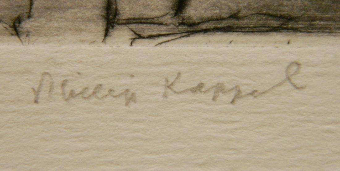 Philip Kappel 4 etchings - 5