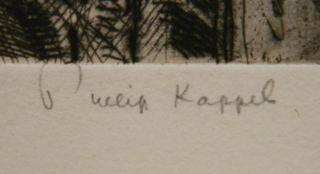 Philip Kappel 4 etchings - 7