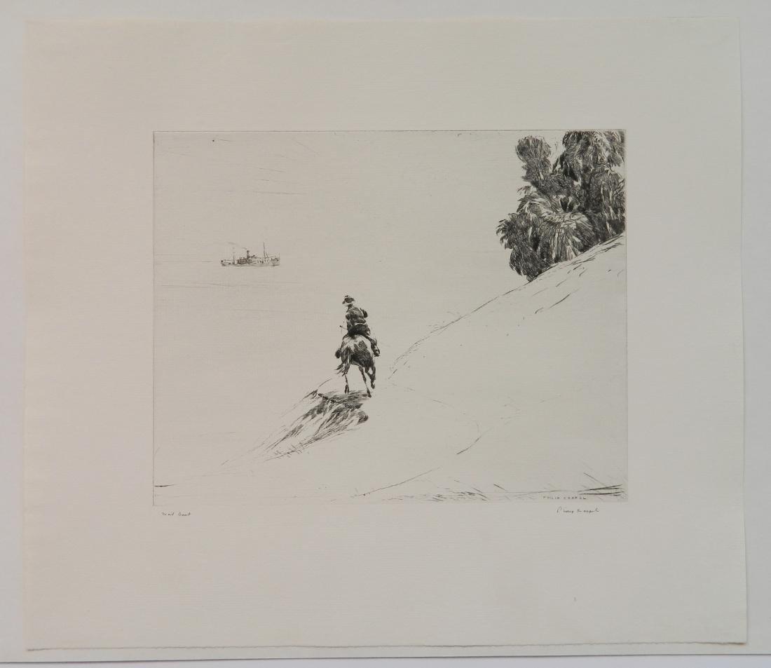 Philip Kappel 4 etchings - 8