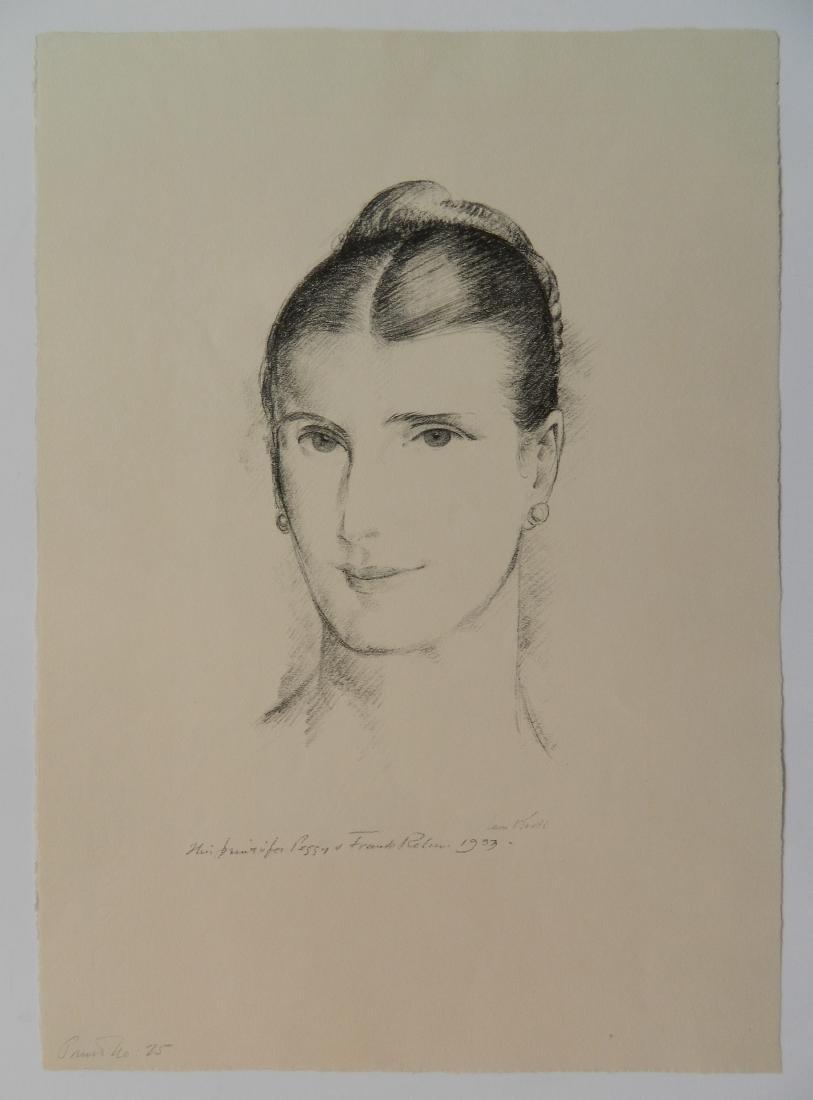 Leon Kroll lithograph - 2