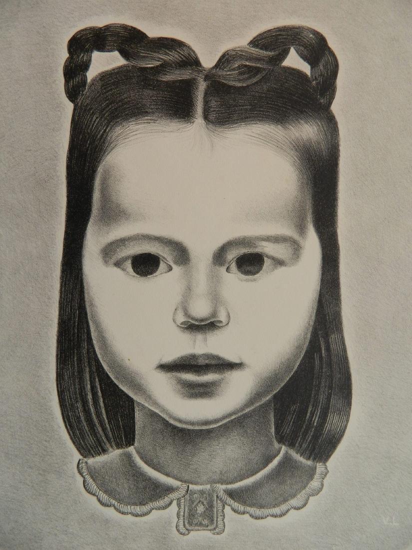 Vincent La Badessa lithograph