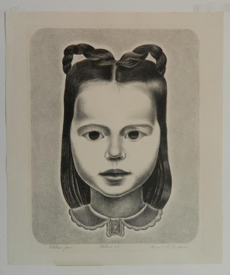 Vincent La Badessa lithograph - 2