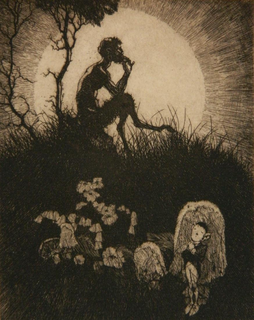Robert Lawson etching