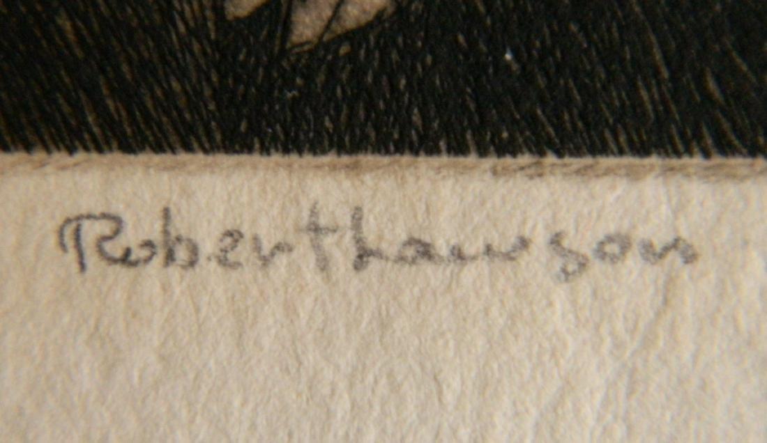 Robert Lawson etching - 3