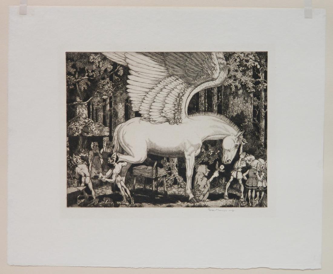 Robert Lawson 3 etchings - 2