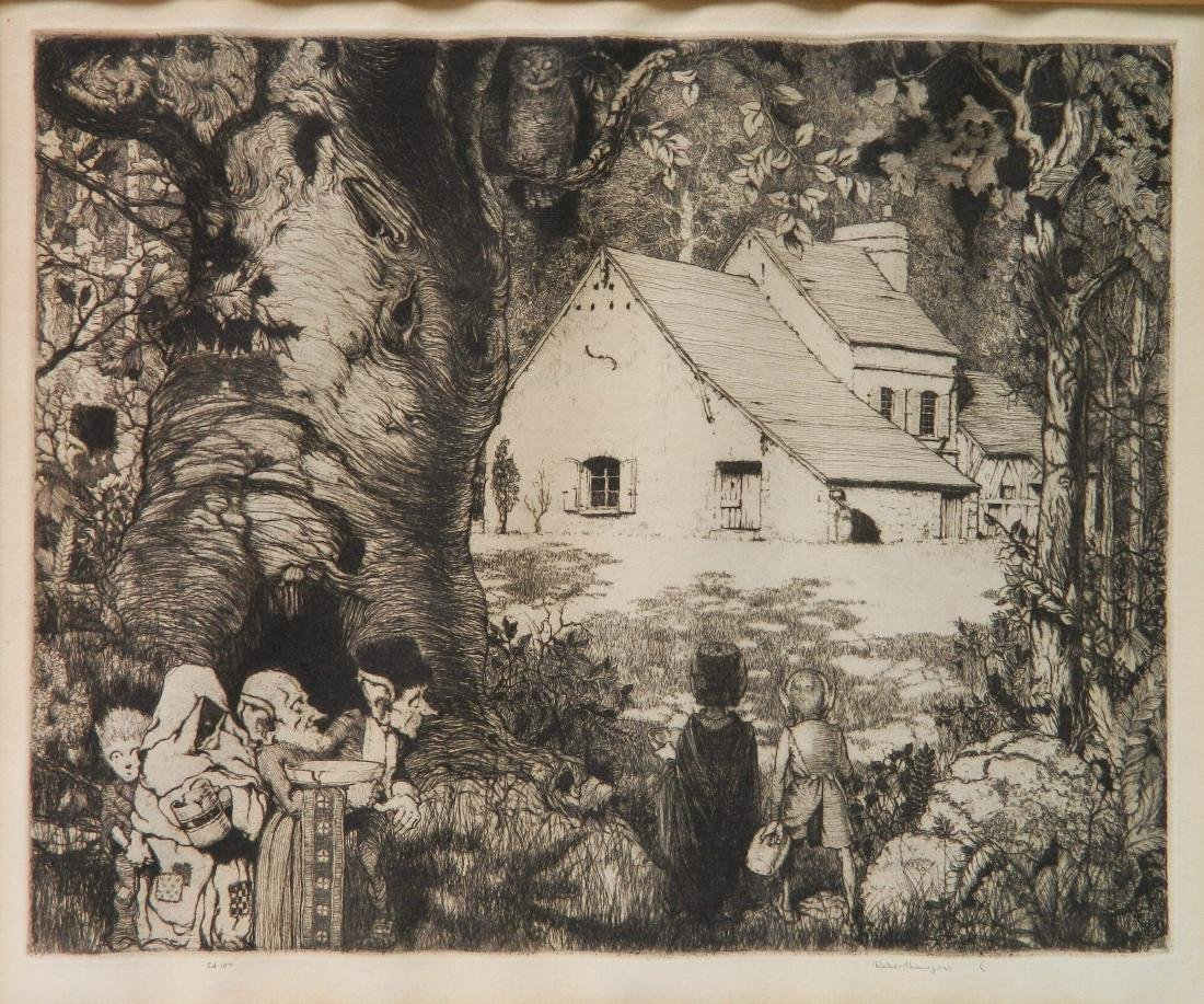 Robert Lawson 3 etchings - 5
