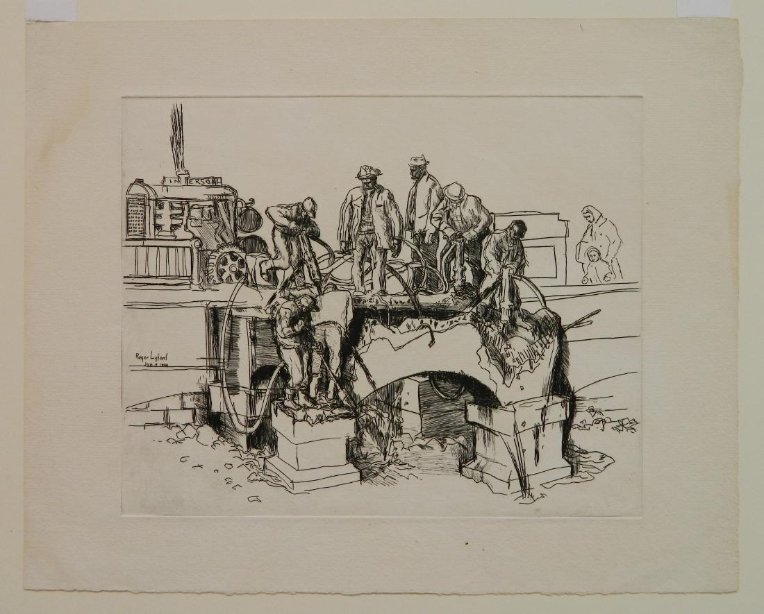 Roger Lyford 2 etchings - 2