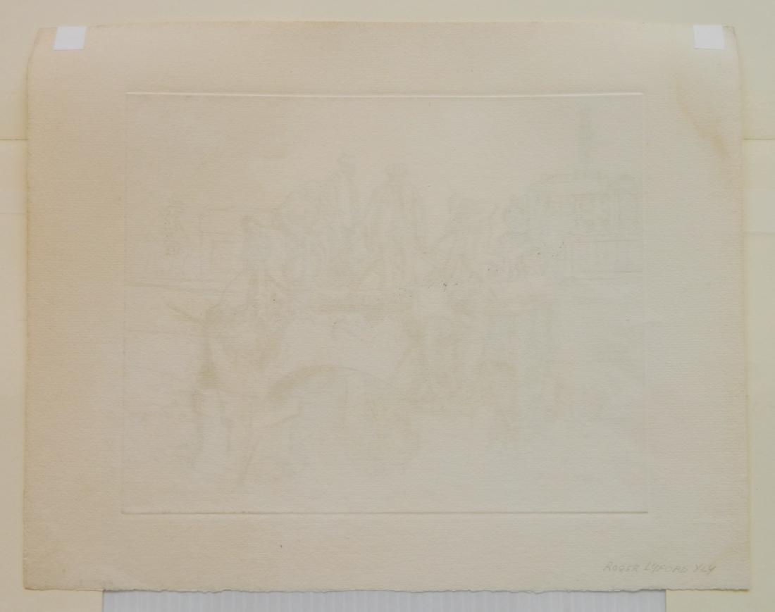 Roger Lyford 2 etchings - 5