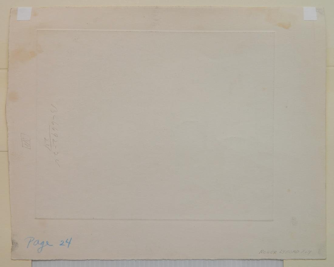 Roger Lyford 2 etchings - 7