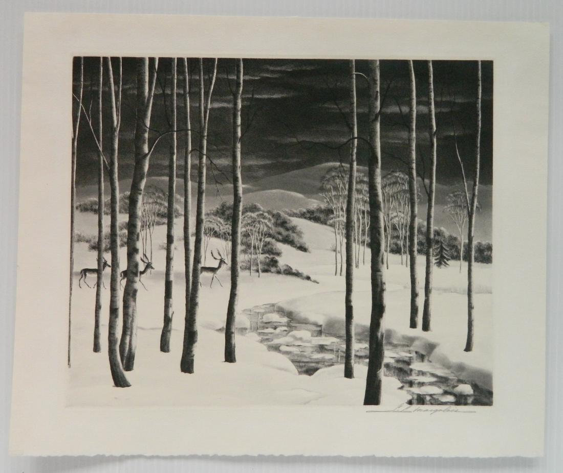 Samuel Margolies lithograph - 2