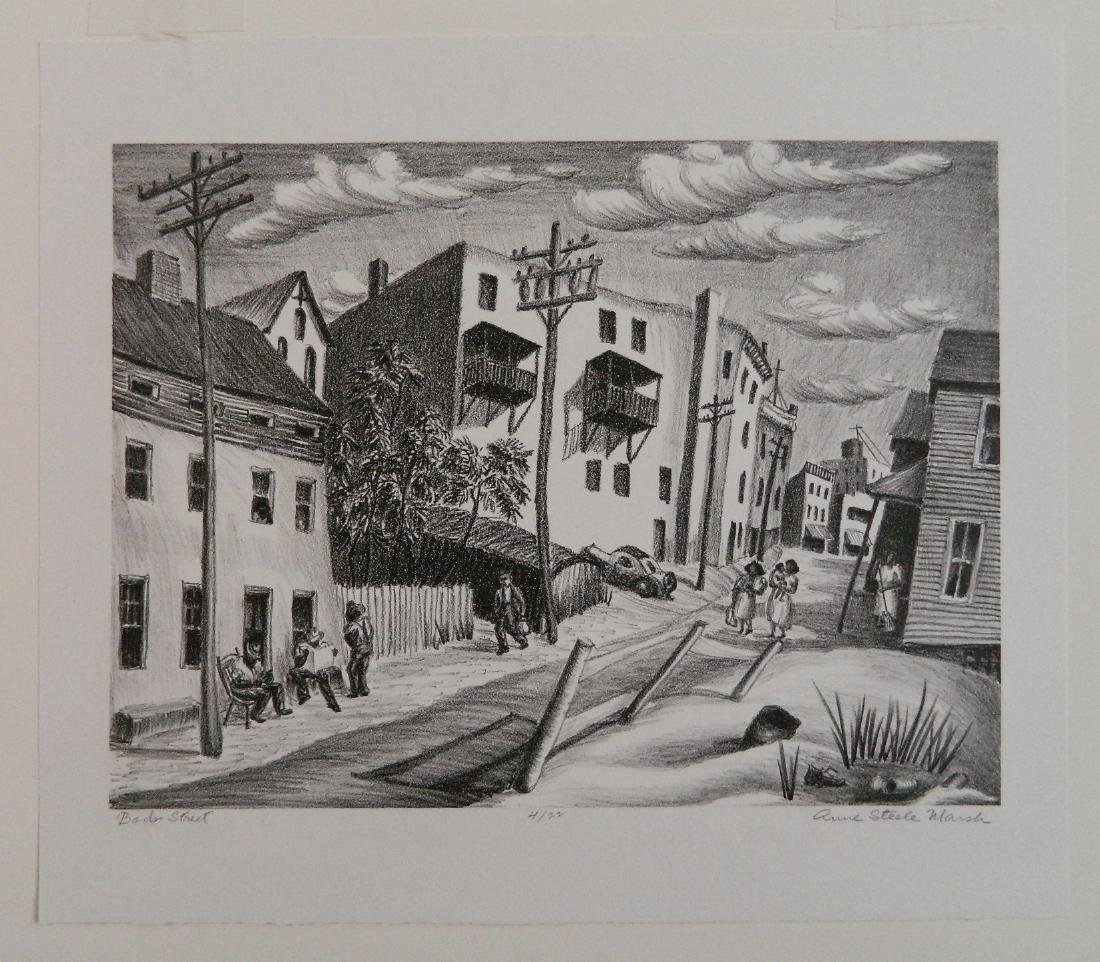 Anne S. Marsh lithograph - 4