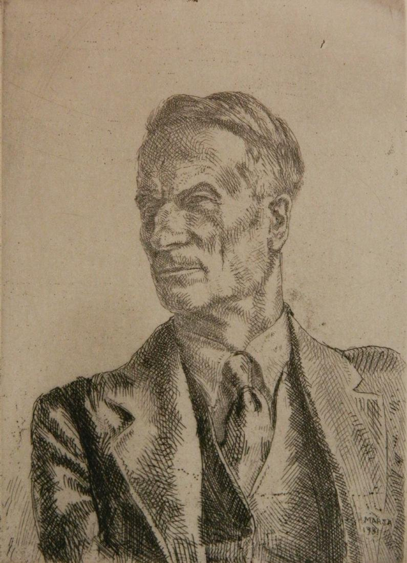 Reginald Marsh etching