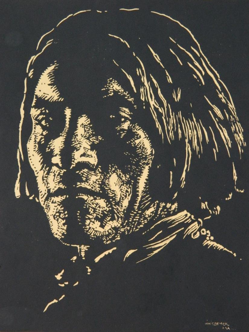Howard McCormick wood engraving