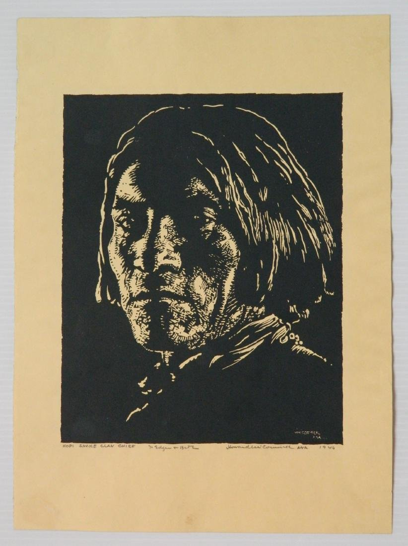 Howard McCormick wood engraving - 2