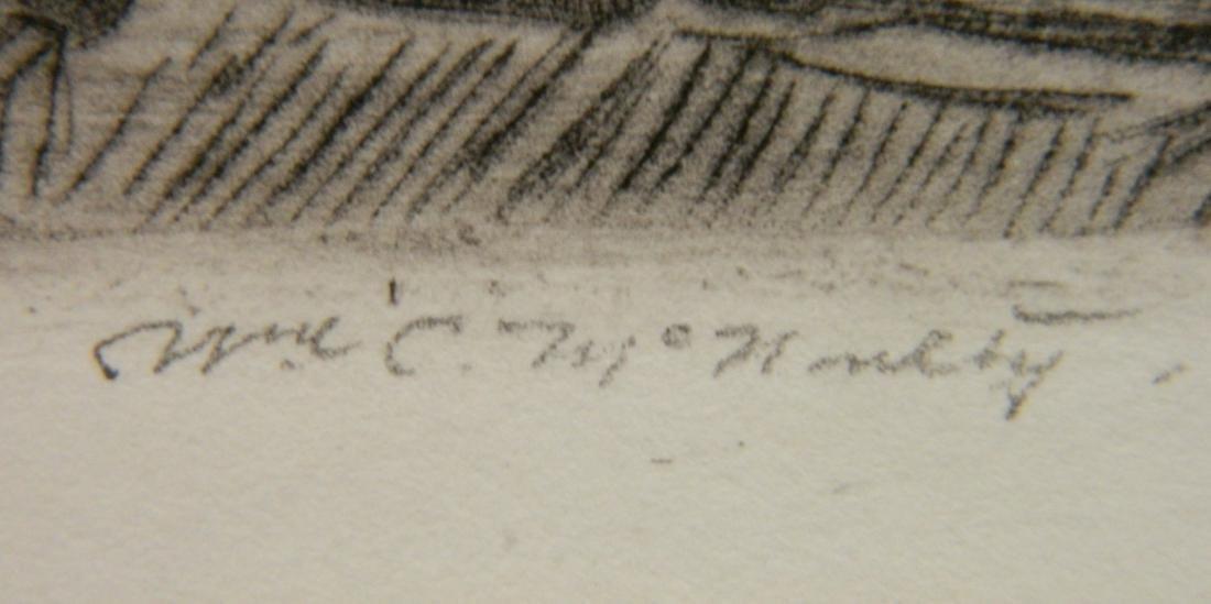 William Mc Nulty etching - 3