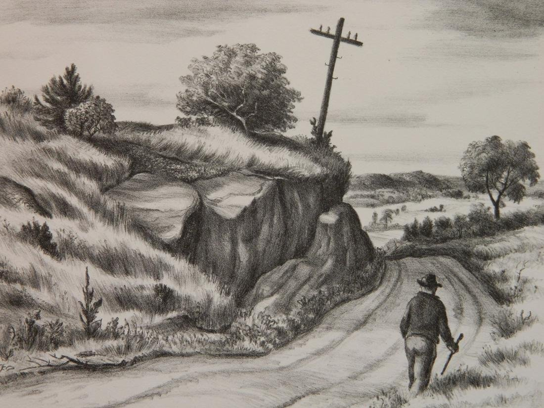 Dudley Morris lithograph