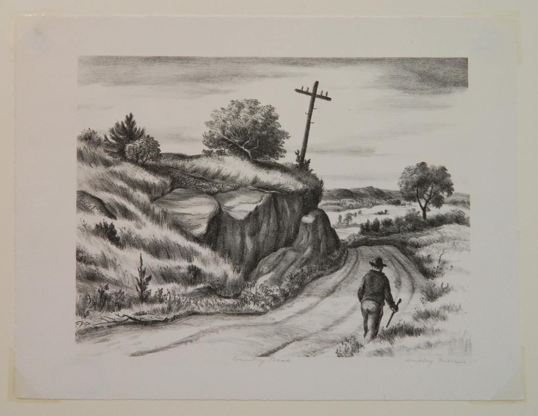 Dudley Morris lithograph - 2