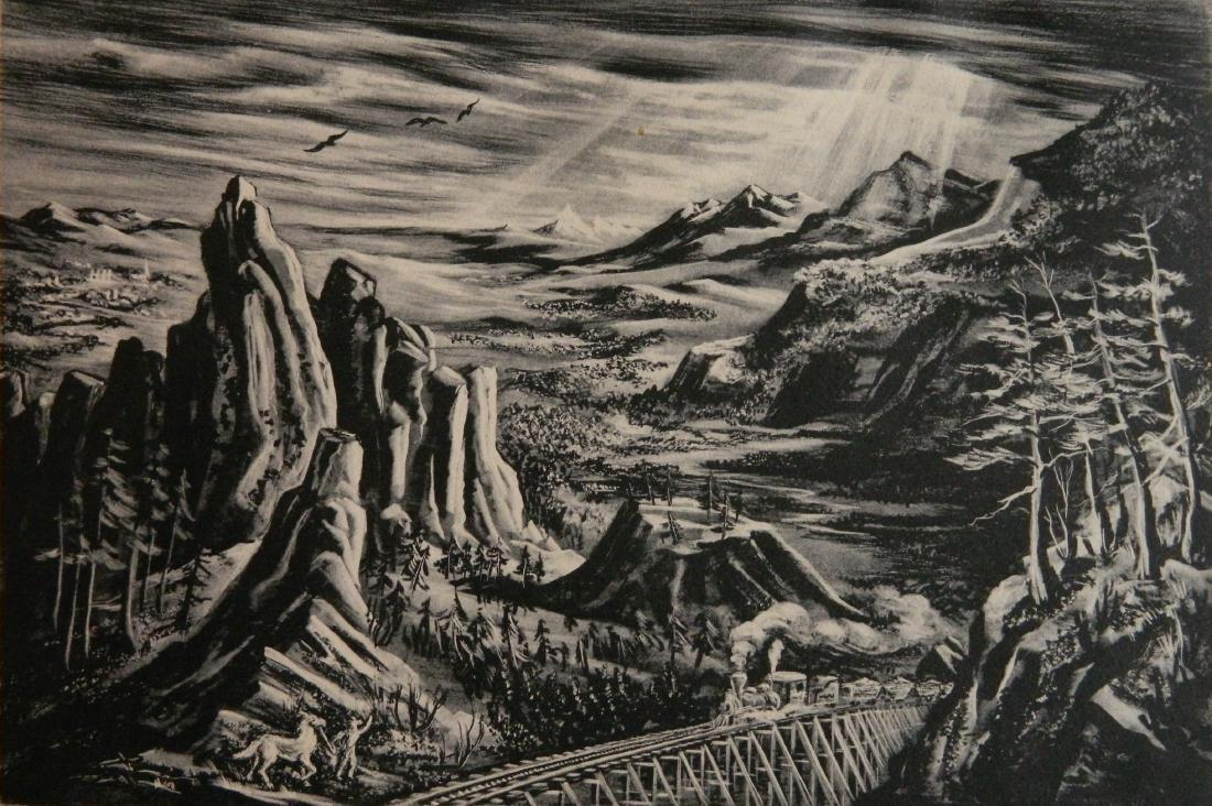 Reginald Neal lithograph