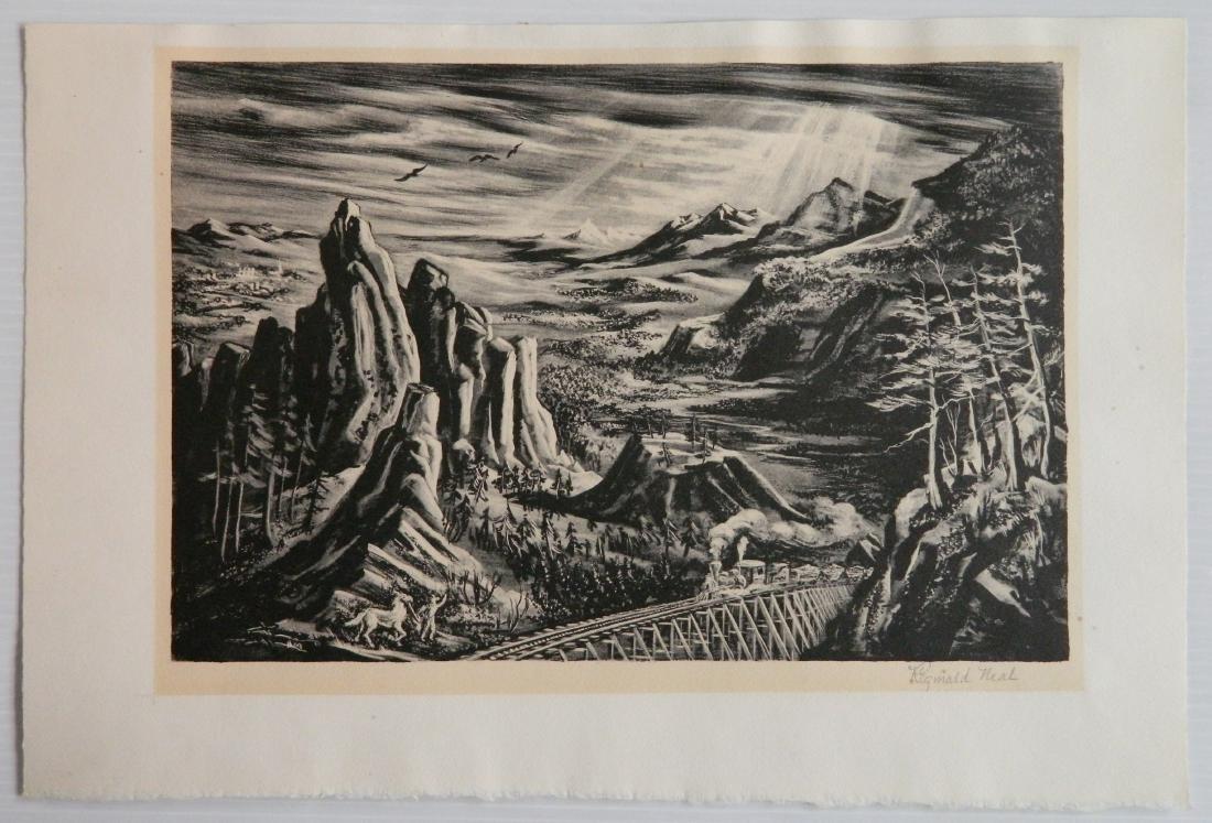 Reginald Neal lithograph - 2