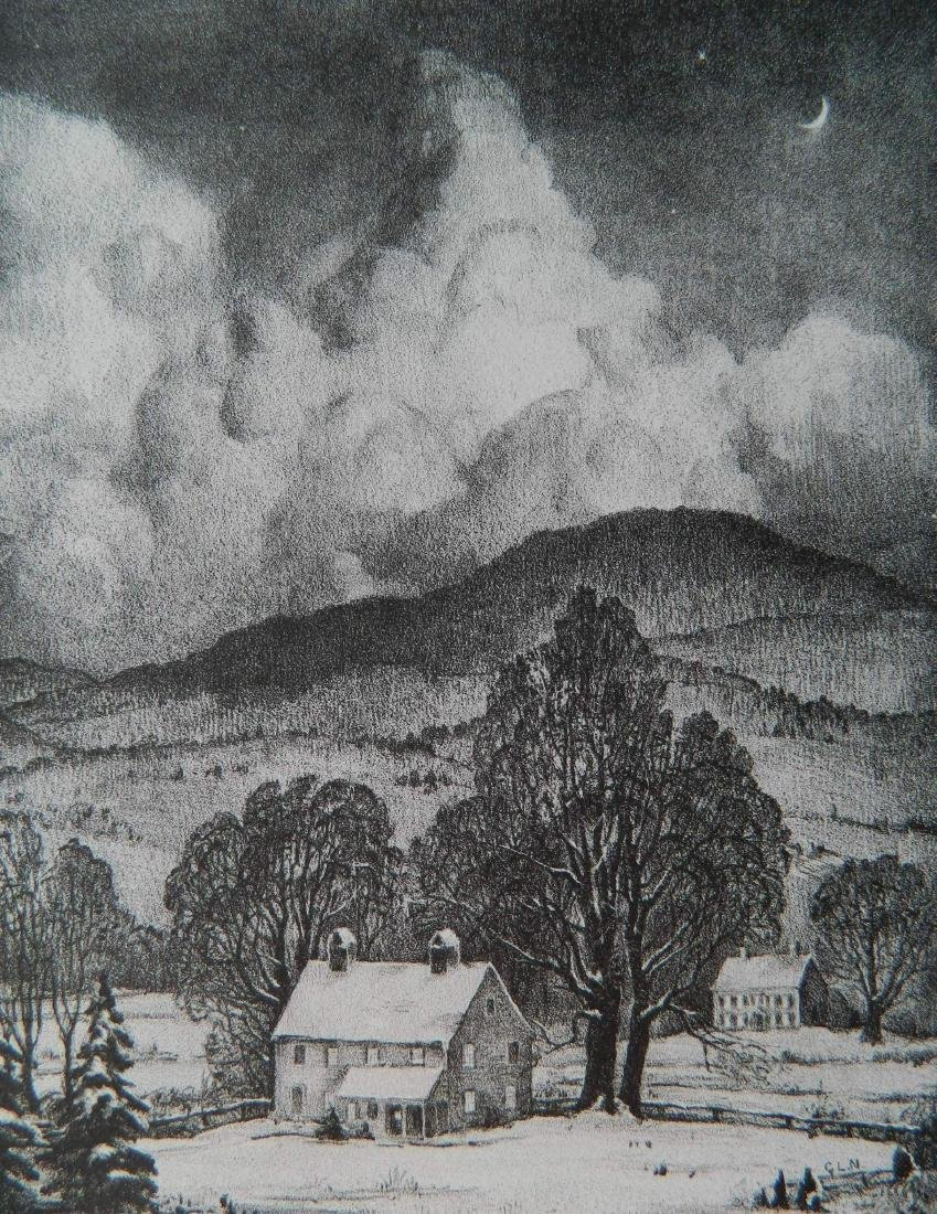 George Laurence Nelson lithograph
