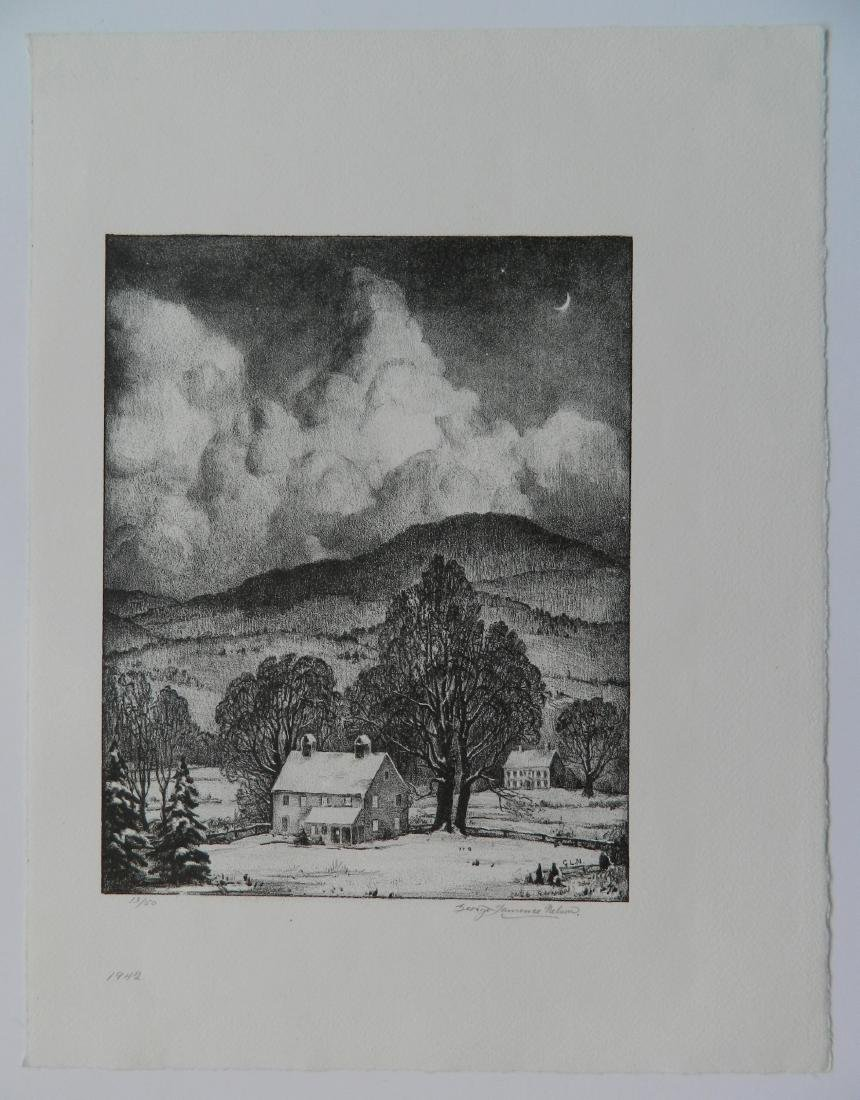 George Laurence Nelson lithograph - 2