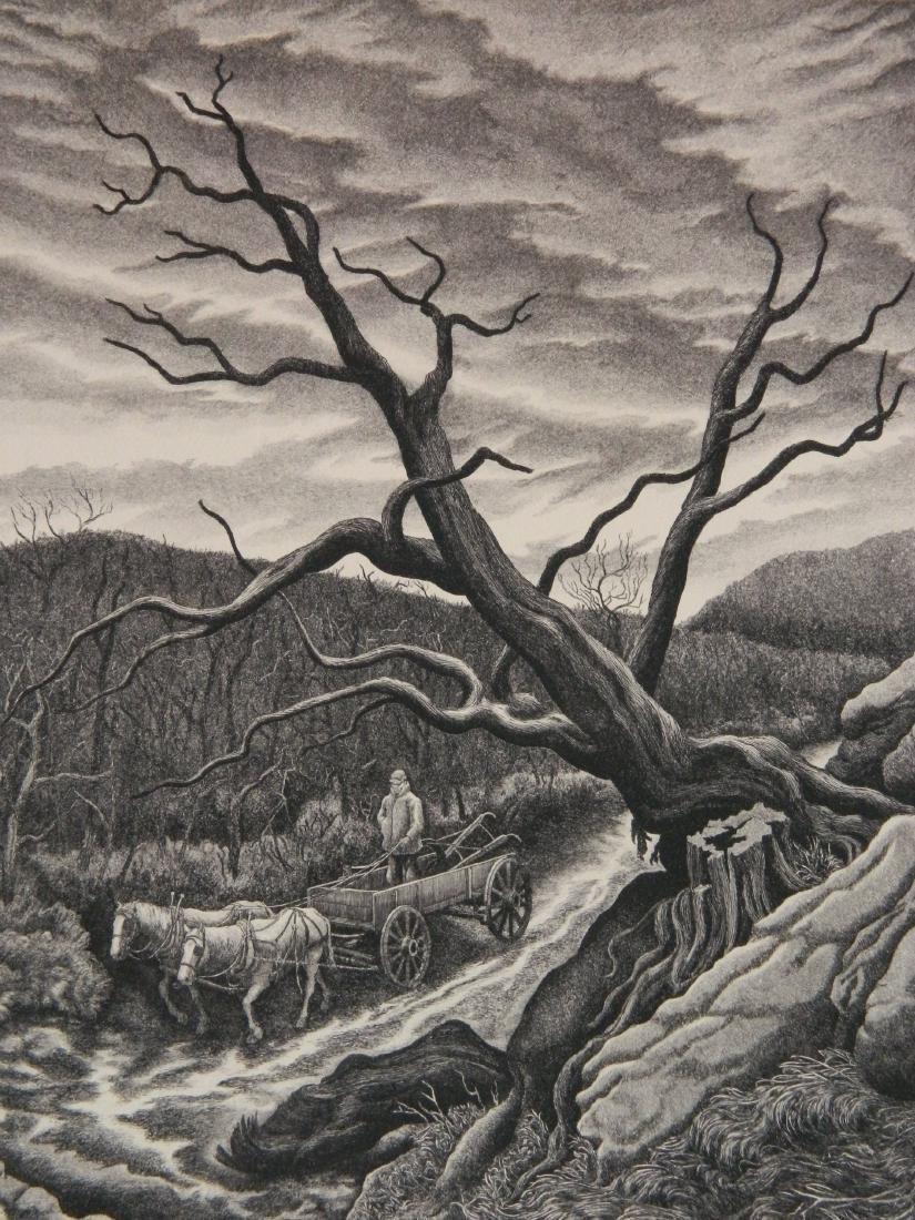 Jackson Lee Nesbitt etching