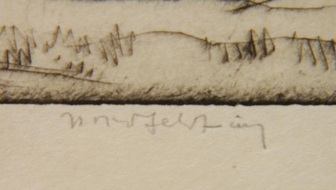 Bror J. O. Nordfeldt 2 etchings - 4