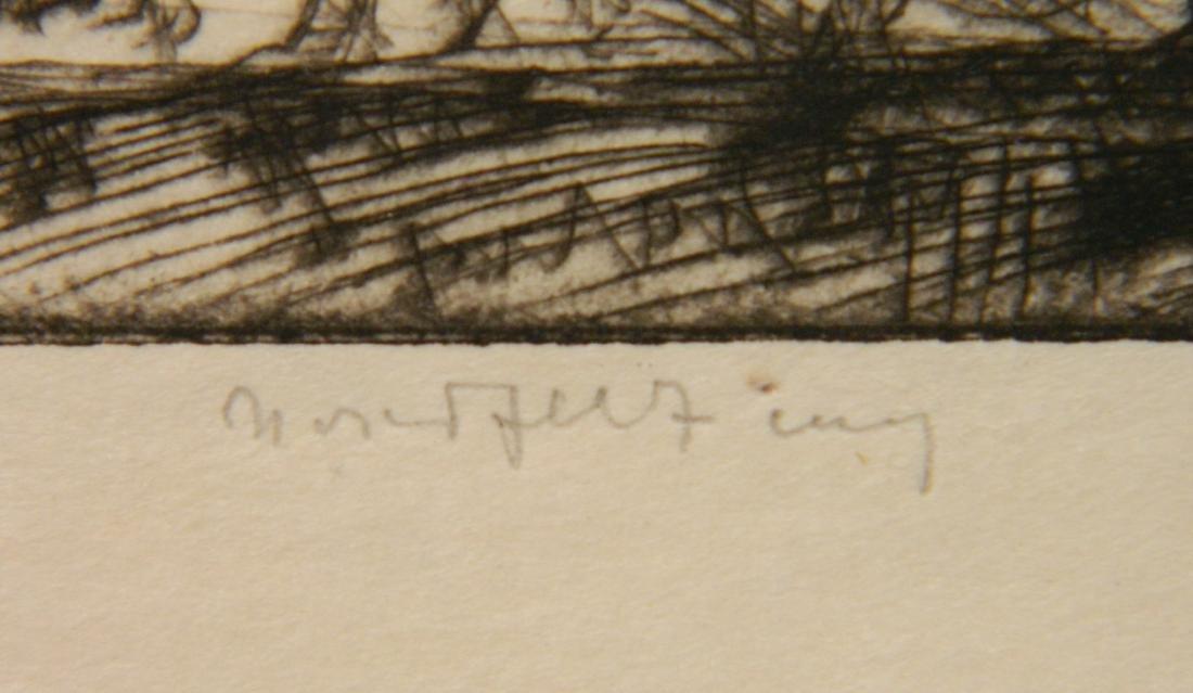 Bror J. O. Nordfeldt 2 etchings - 8
