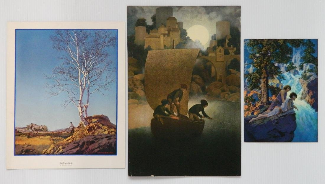 Maxfield Parrish 7 off-set lithographs and 1 book - 10