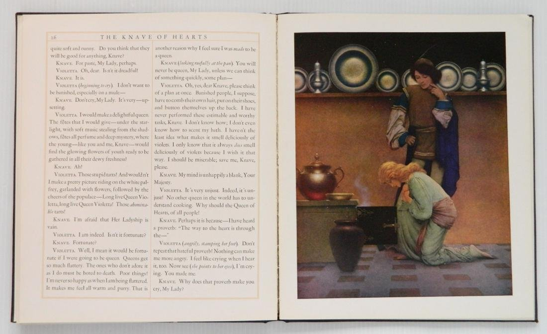 Maxfield Parrish 7 off-set lithographs and 1 book - 5