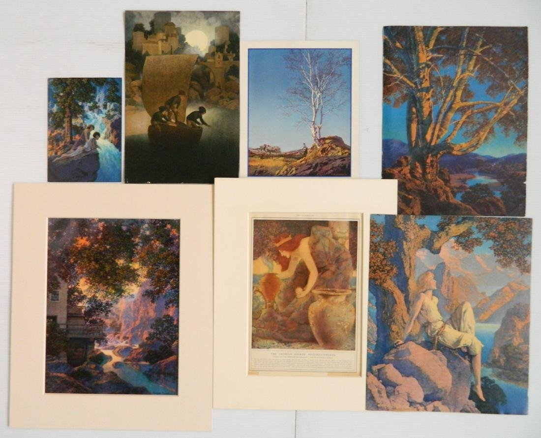 Maxfield Parrish 7 off-set lithographs and 1 book - 6