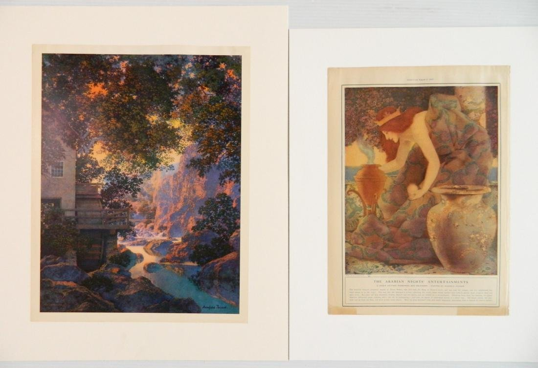 Maxfield Parrish 7 off-set lithographs and 1 book - 7