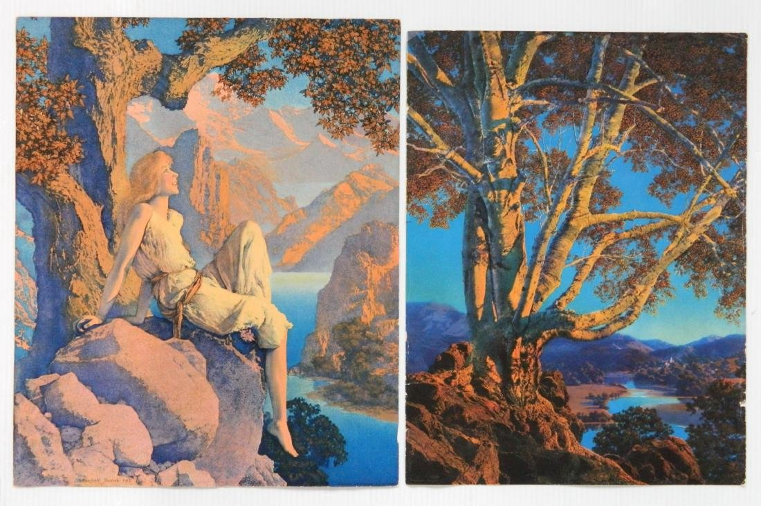 Maxfield Parrish 7 off-set lithographs and 1 book - 9