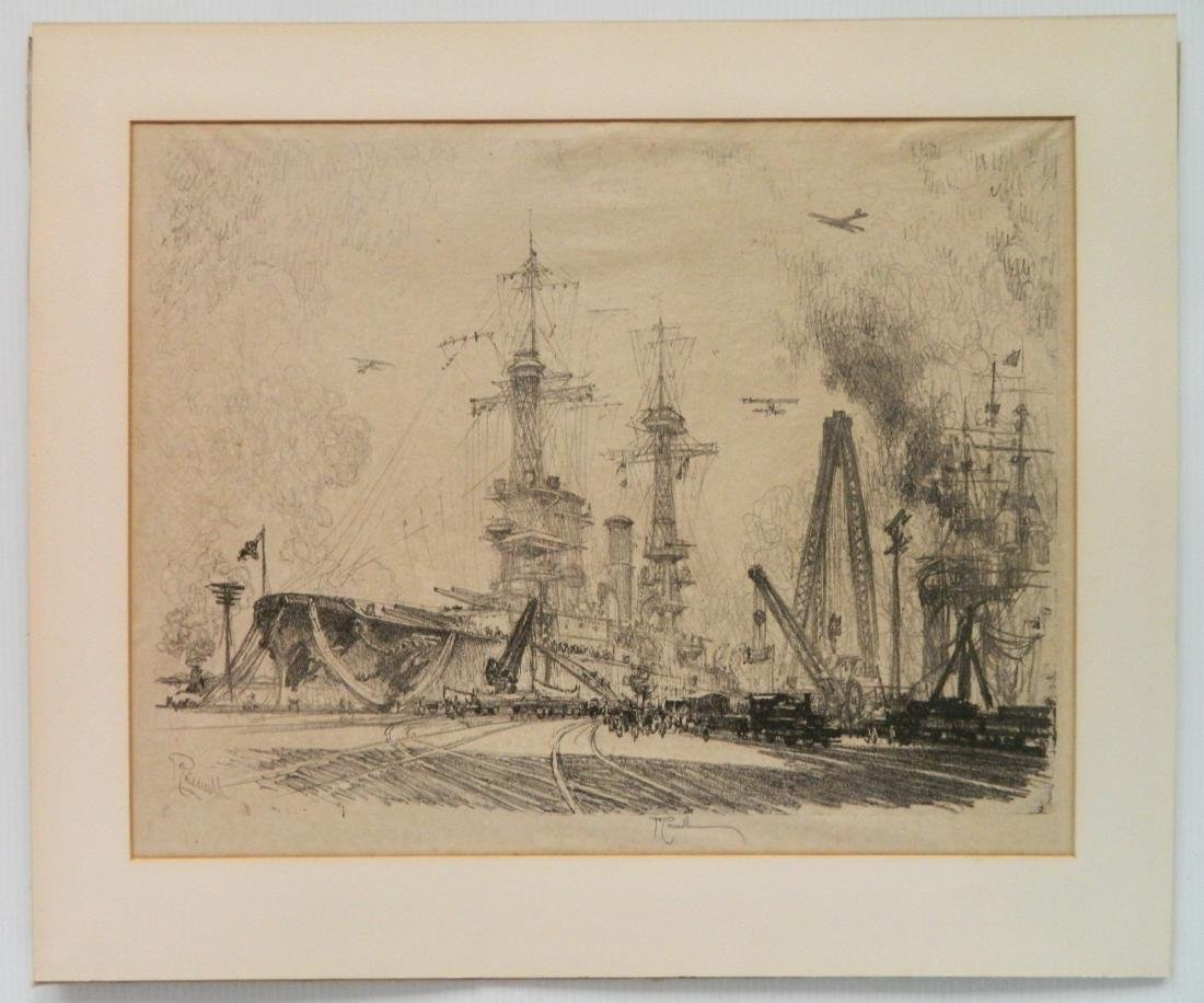 Joseph Pennell lithograph - 2
