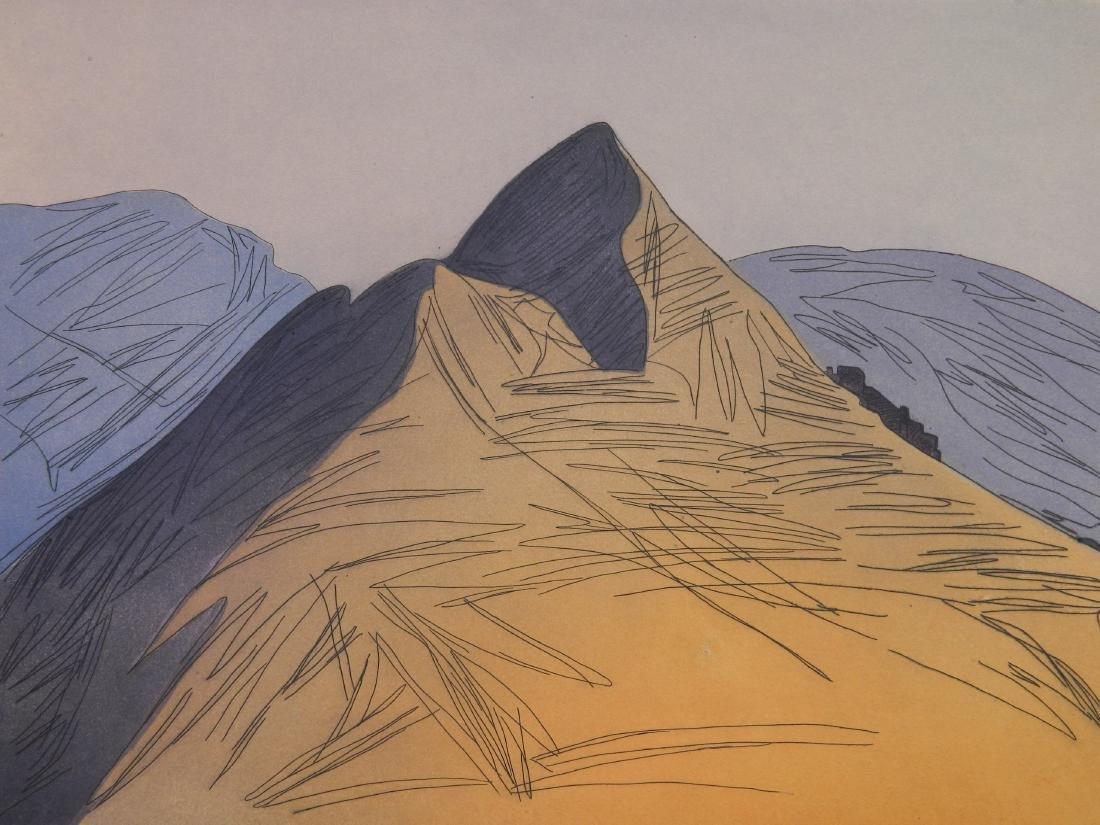 Augusta Rathbone etching and aquatint