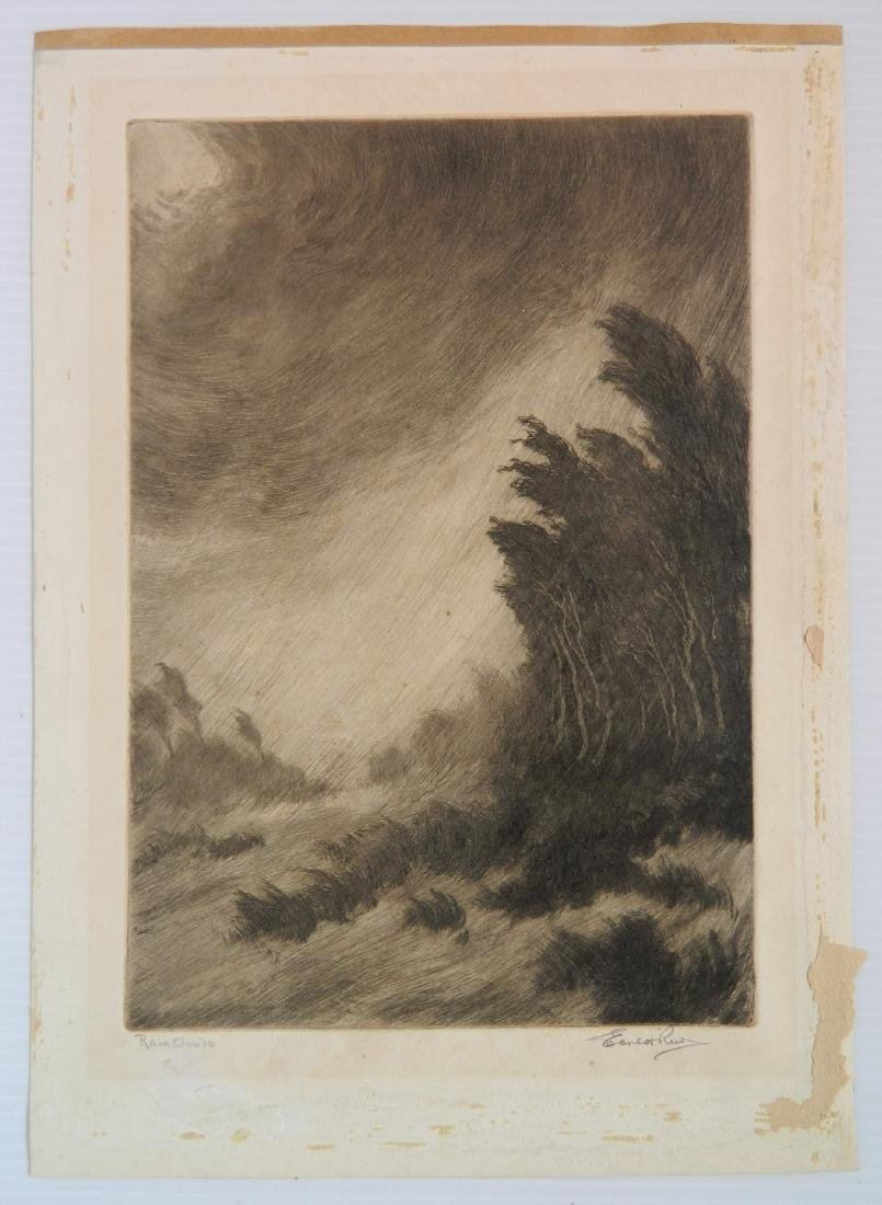 Ernest Reed etching - 2