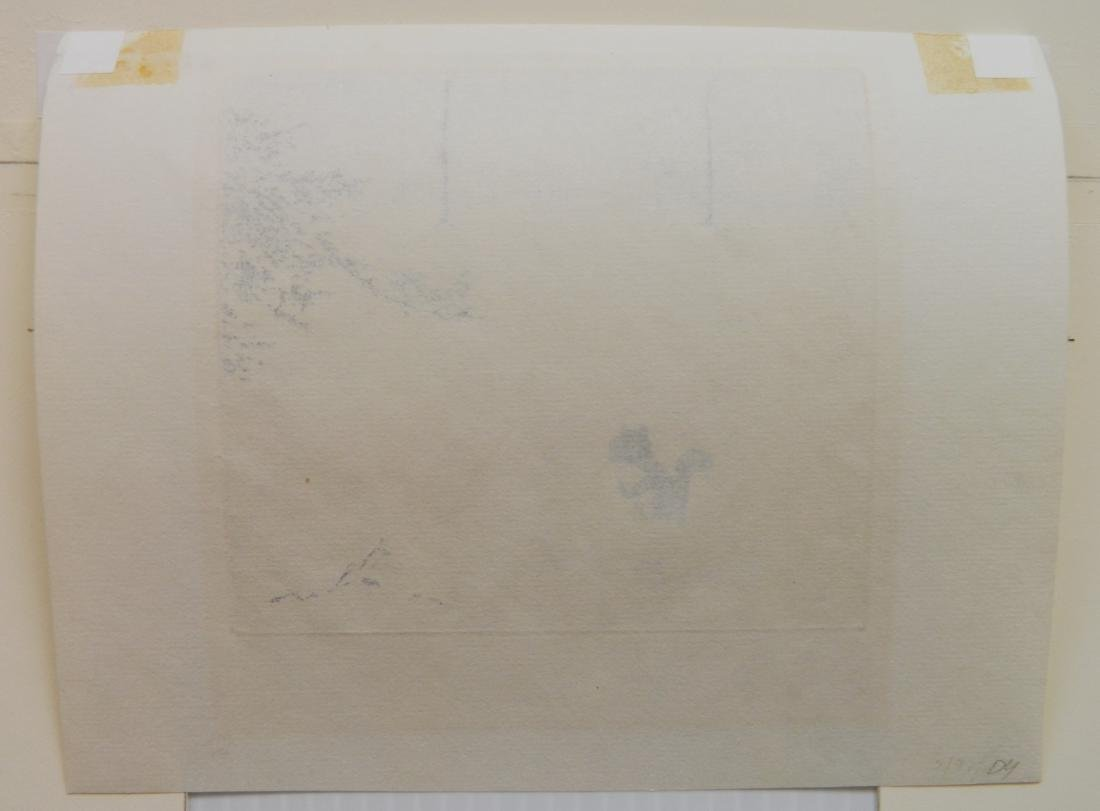Alfred Rudolph 2 etchings - 6