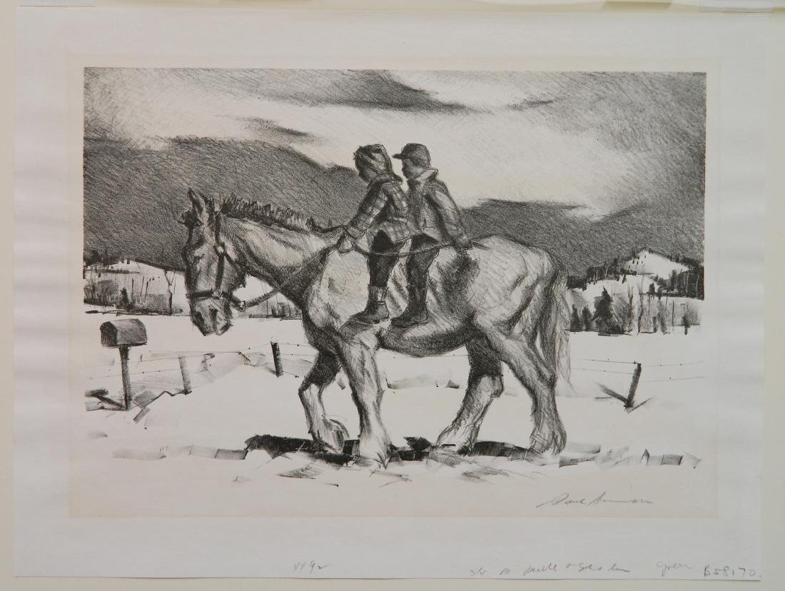Paul Sample lithograph - 2