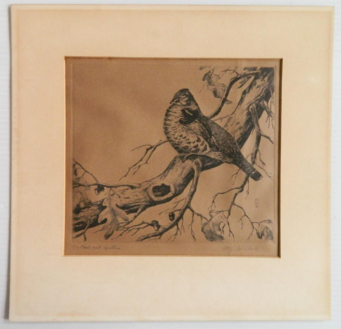 William Joseph Schaldach 5 etchings - 3