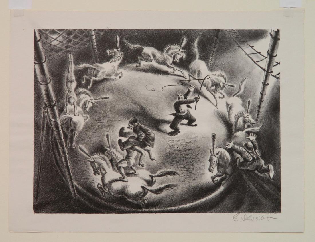 Georges Schreiber lithograph - 2