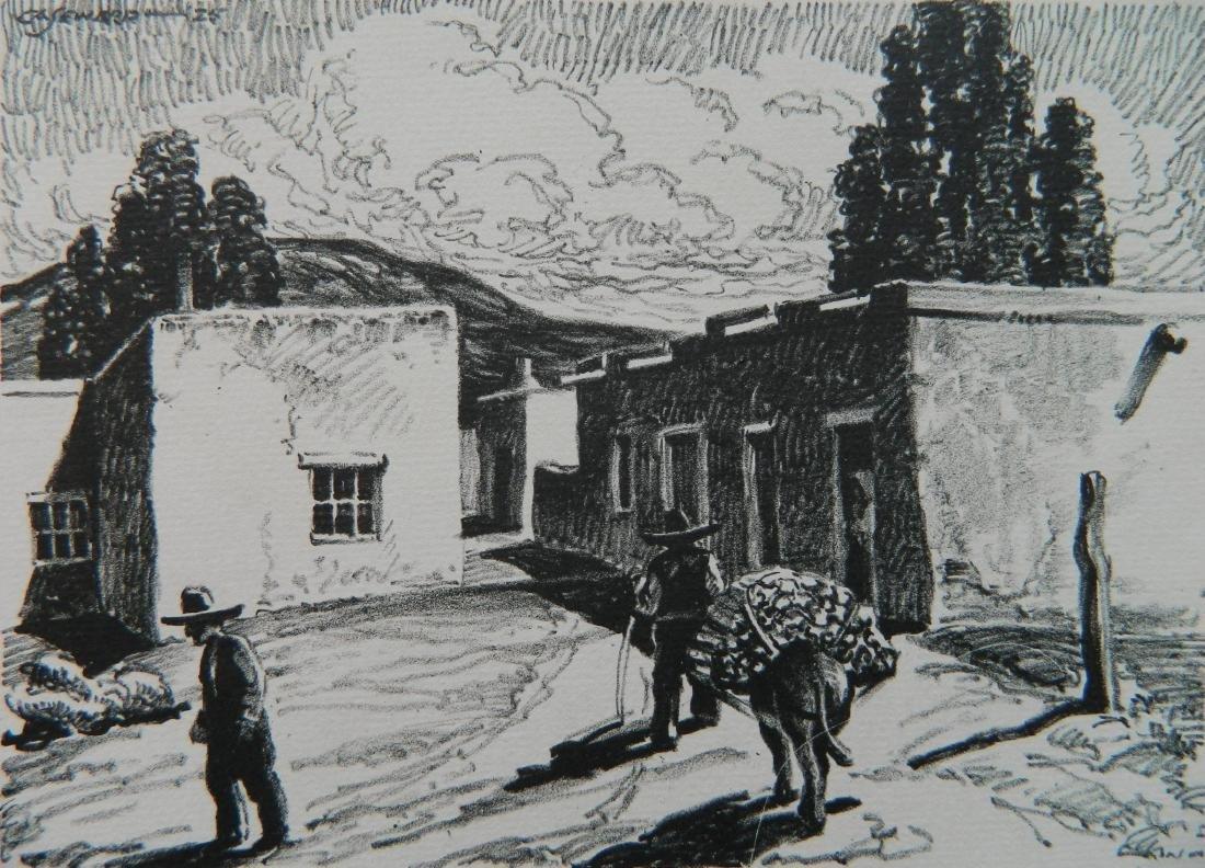 Coy A. Seward lithograph