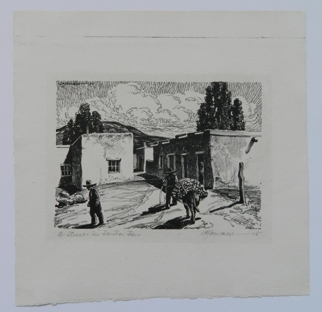 Coy A. Seward lithograph - 2