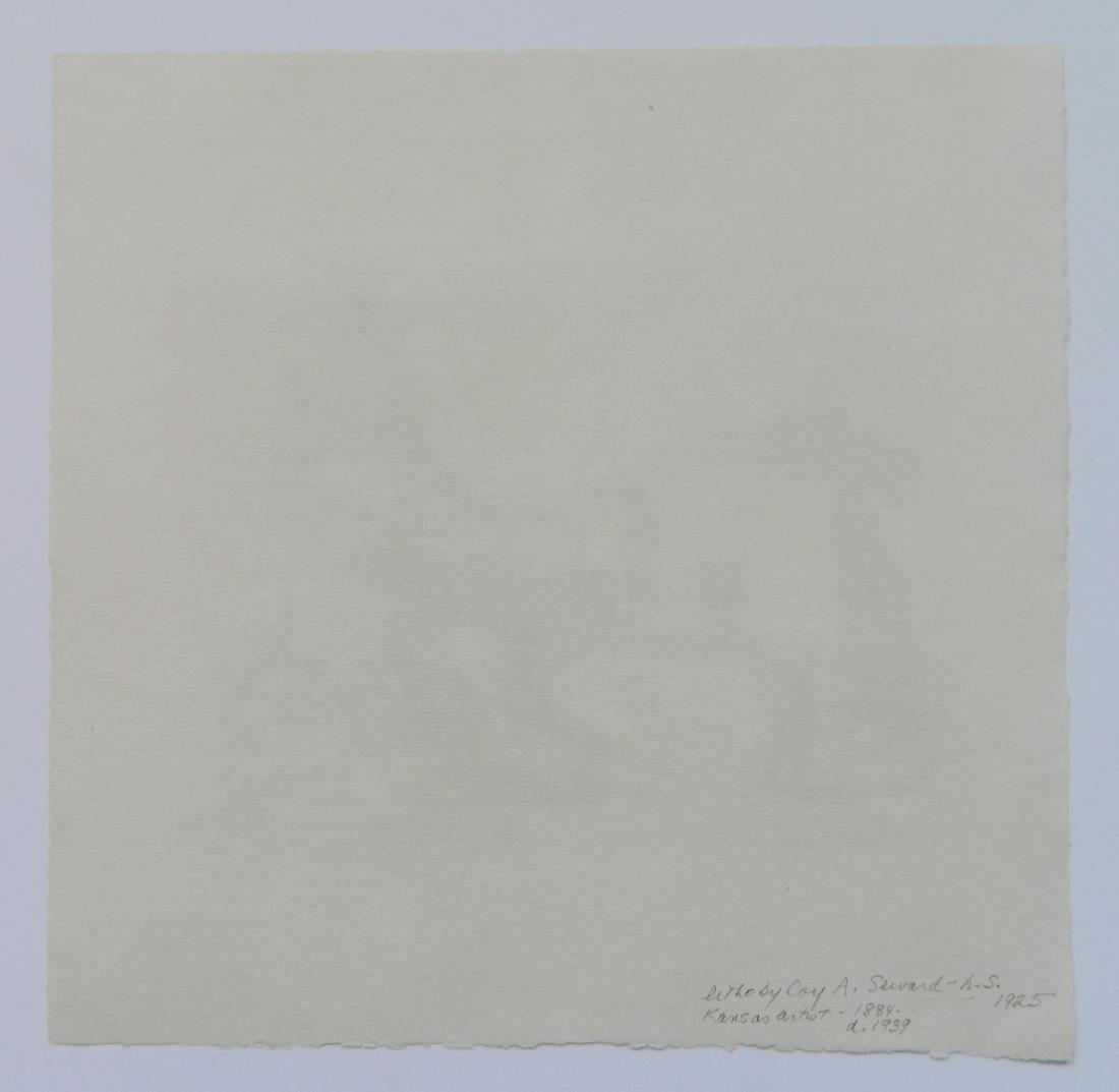 Coy A. Seward lithograph - 4