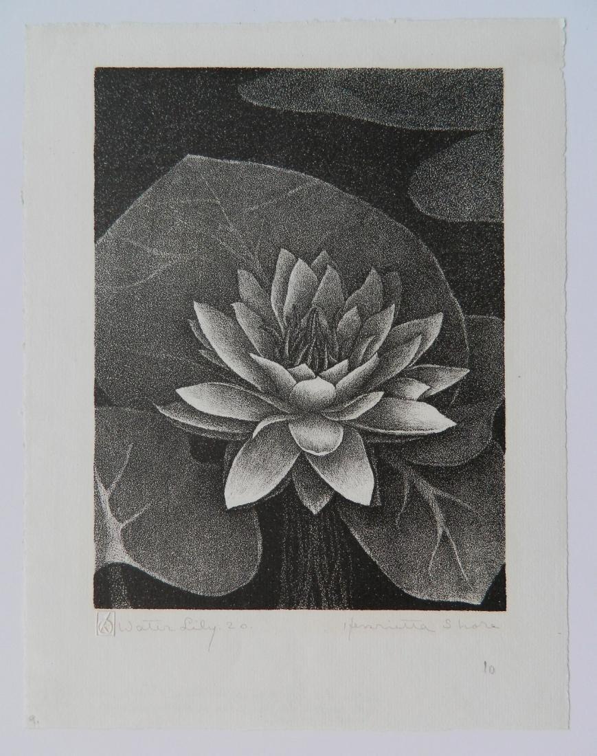 Henrietta Shore lithograph - 2