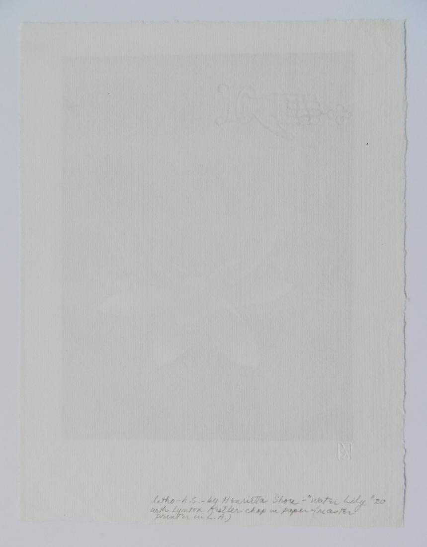 Henrietta Shore lithograph - 4