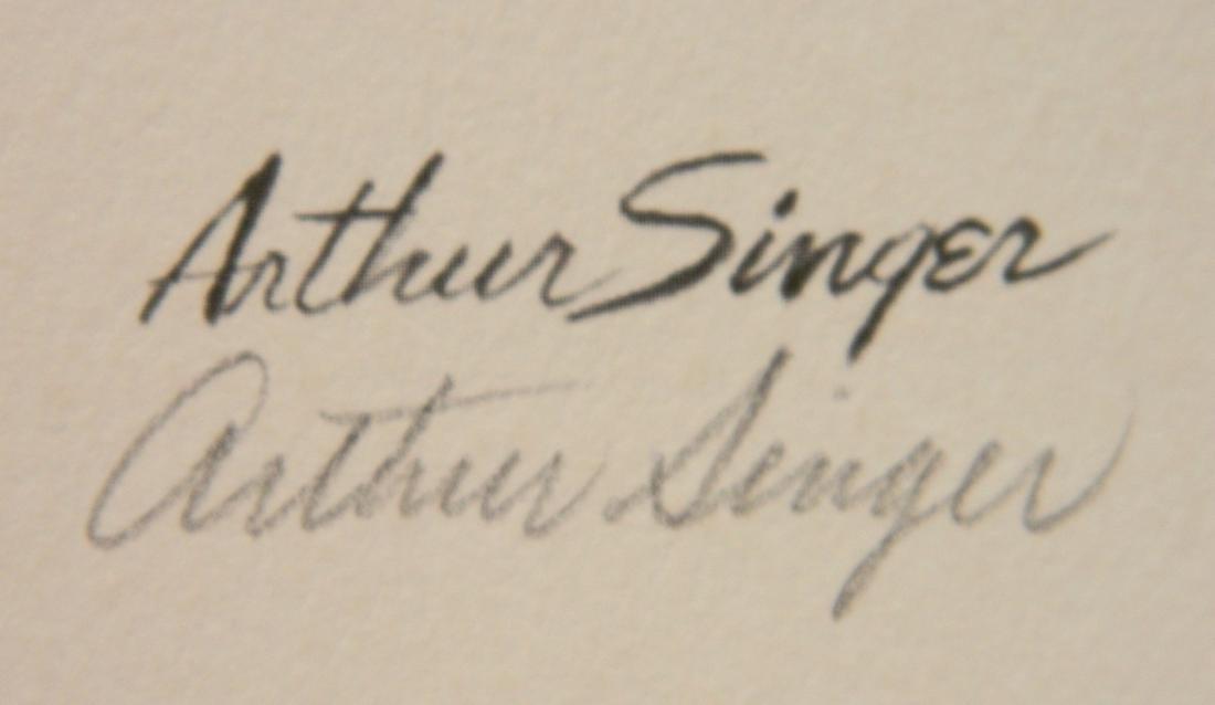 Arthur Singer off-set lithograph - 3