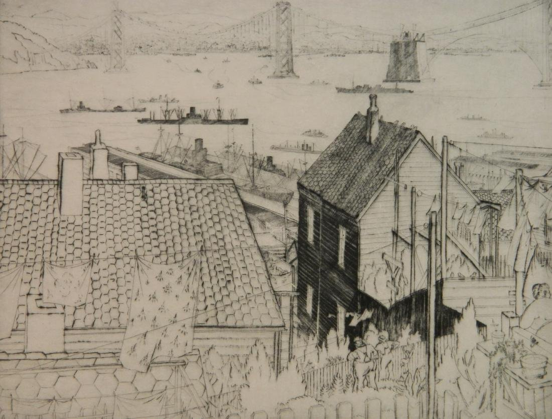 John Stoll etching